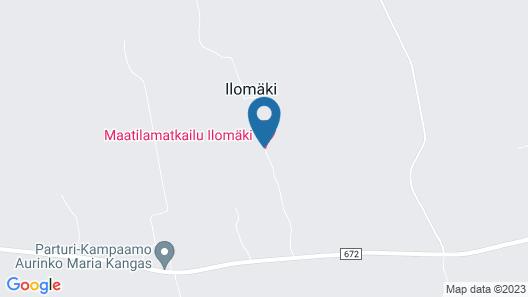 Maatilamatkailu Ilomäki Map
