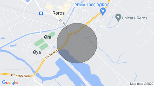 3 Bedroom Accommodation in Røros Map
