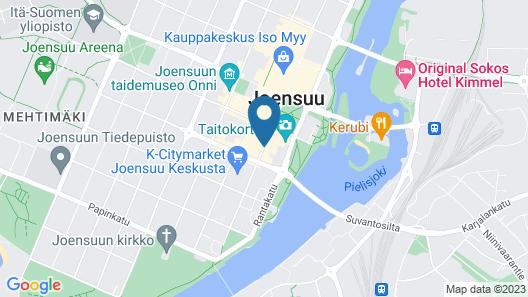 GreenStar Hotel Joensuu Map