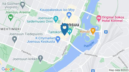 Kotimaailma Apartments Joensuu Map