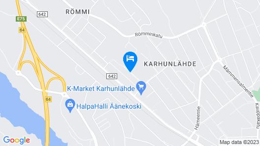 Two Bedroom Apartment in Äänekoski, Kyminkatu 6 Map