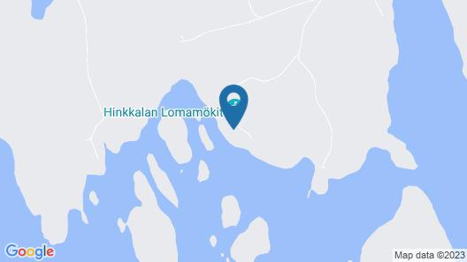 Hinkkalan Lomamökit Map