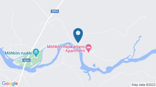 Möhkön Rajakartano Map