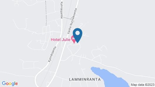 Hotel Julie Map