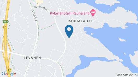 Rauhalahti Holiday Centre Villas Map