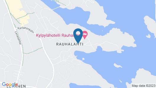 Spa Hotel Rauhalahti Map