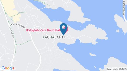 Spa Rauhalahti Apartments Map