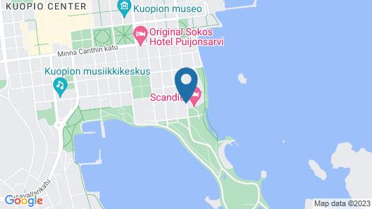Scandic Kuopio Map