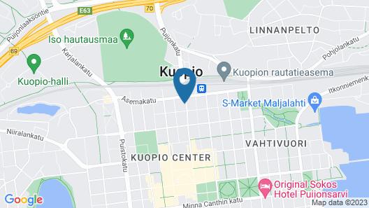 Cumulus Kuopio Map