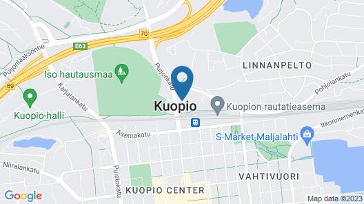 Kotimaailma Apartments Kuopio Map