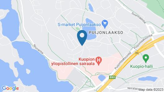 Studio Apartment in Kuopio, Taivaanpankontie 10 g Map