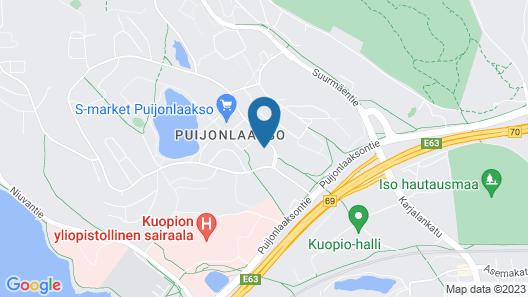 Hotel Savonia Map