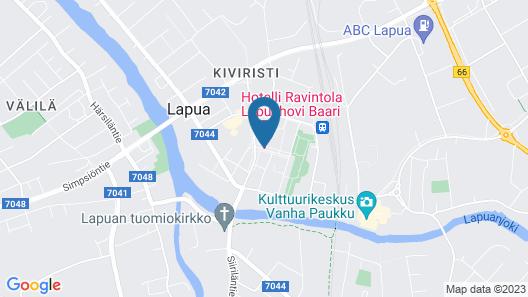 Hotelli-Ravintola Lapuahovi Map