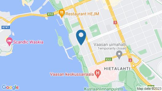 EC Hostel Map