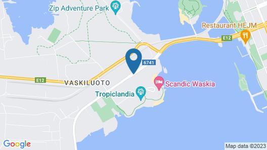 Scandic Waskia Map