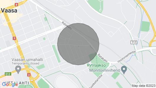 Viihtyisä asunto lähellä kaupunkikeskusta Map