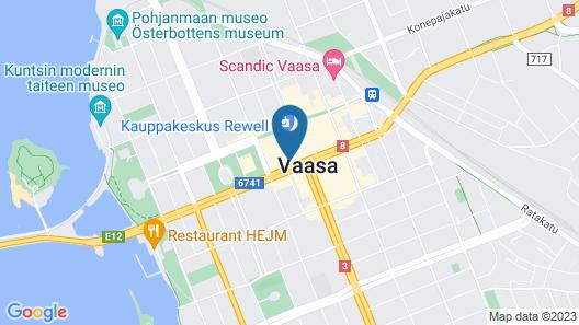Original Sokos Hotel Vaakuna Map