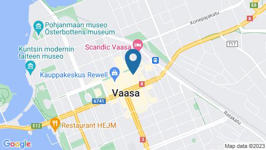 Omena Hotel Vaasa Espen Map