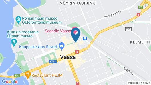 Original Sokos Hotel Royal Vaasa Map