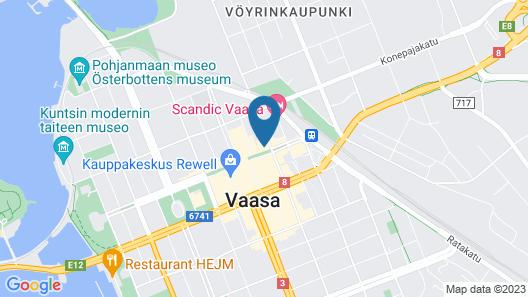Forenom Aparthotel Vaasa Map