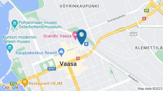 Omena Hotel Vaasa Map