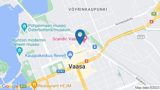 Kotimaailma Apartments Vaasa Map