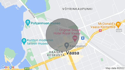 Two Bedroom Apartment in Vaasa, Kauppapuistikko 5 Map
