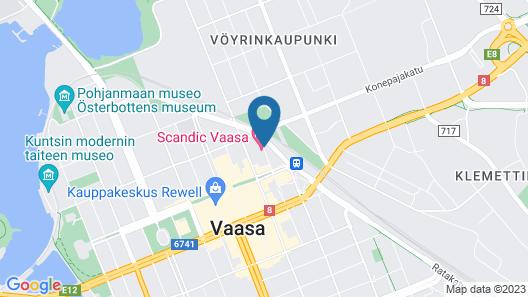 Scandic Vaasa Map