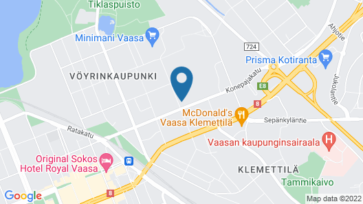 Pro Apartments 5 Map