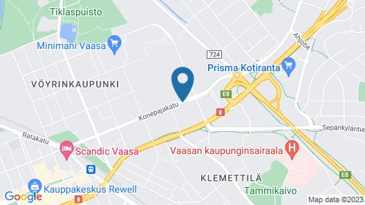 Pro Apartments 4 Map