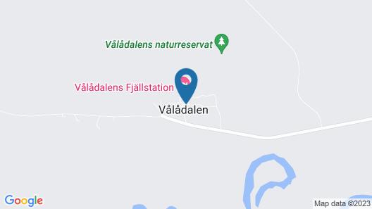 Vålådalens Fjällstation Map
