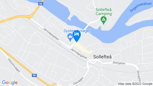 Hotell Appelbergs Map
