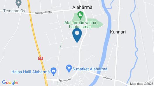 Huoneistohotelli Jääskän Loma Map