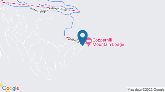 Copperhill Mountain Lodge Map