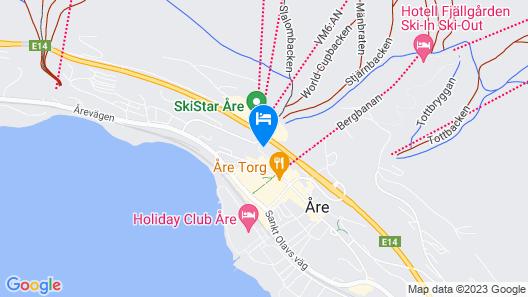Åre Torg Hotell Map