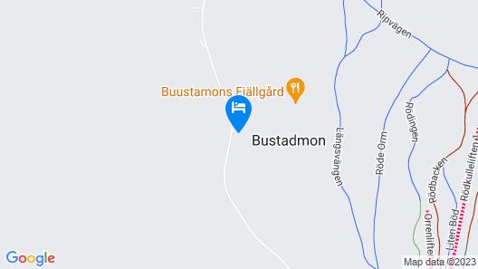 Buustamons Fjällgård Map