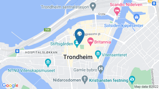 City Living Schøller Hotel Map