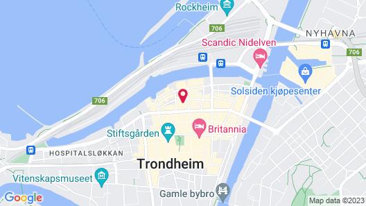 City Living Sentrum Hotell Map