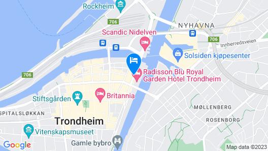 Radisson Blu Royal Garden Hotel Map