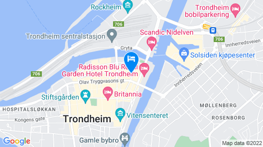 Best Western Plus Hotel Bakeriet Map