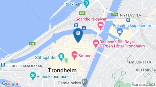 Thon Hotel Nidaros Map