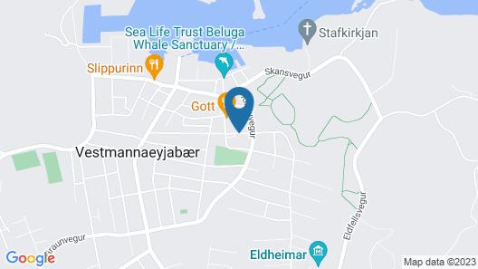 Hotel Vestmannaeyjar Map