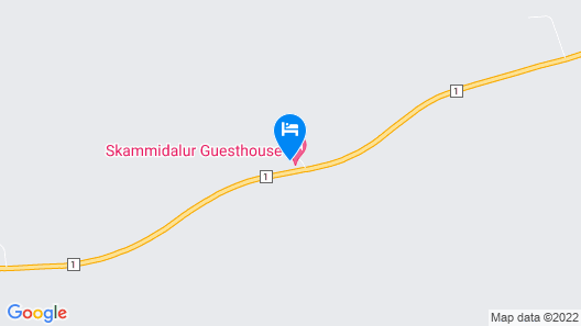 Skammidalur Guesthouse Map