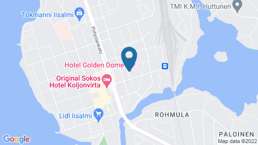 Hotel Golden Dome Iisalmi Map