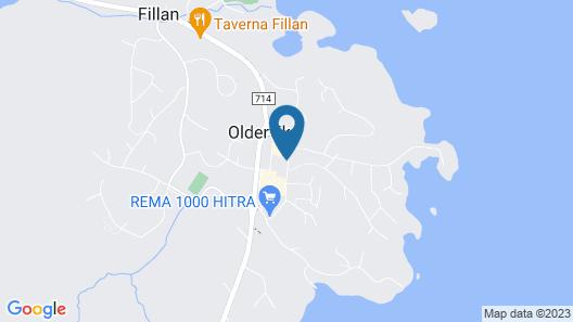 Hjorten Hotell Hitra Map