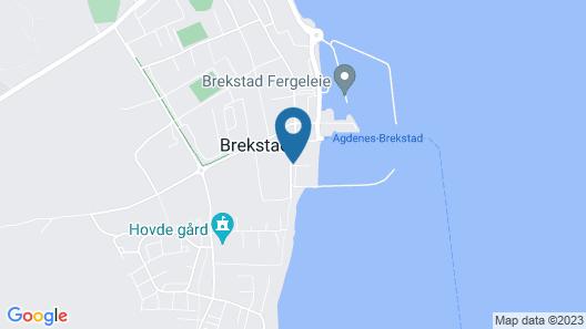 Ørland Kysthotell Map