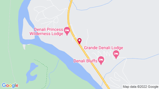 Denali Bluffs Hotel Map