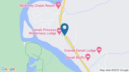 Denali Princess Wilderness Map