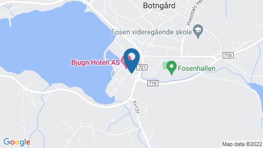 Bjugn Hotell Map
