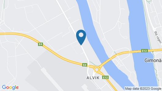 Best Western Hotel Botnia Map